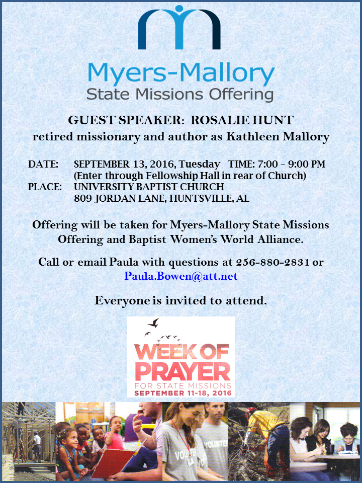 Myers Mallory Offering ad